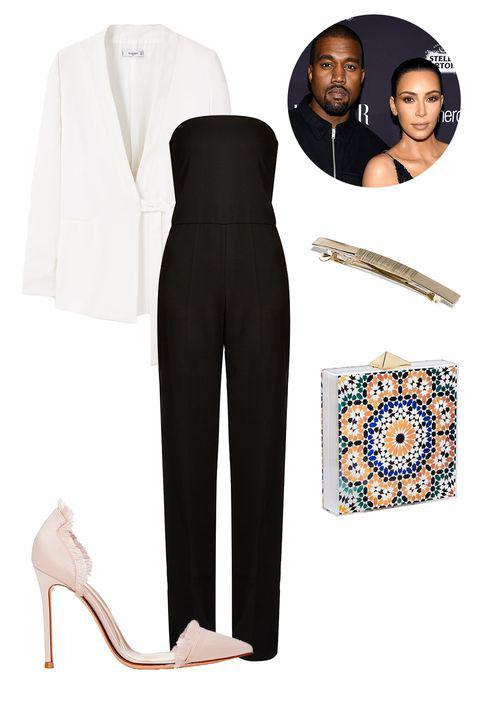 This sleek outfit isn't exactly autumnal, but it'll definitely leave them thinking h ...