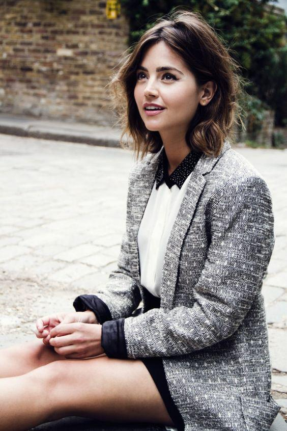 Jenna Coleman in Flaunt Magazine.