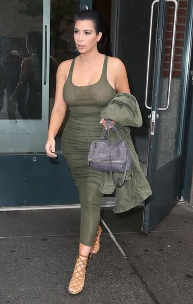 Kim Kardashian Day Dress