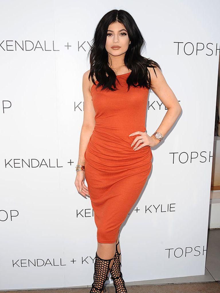 Kylie Jenner attends fashion line launch party at TopShop