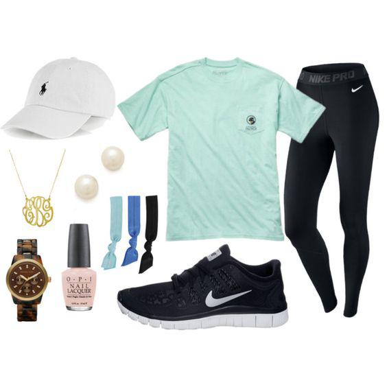 A fashion look from February 2014 featuring t shirts, nike activewear and nike sneakers. Browse  ...