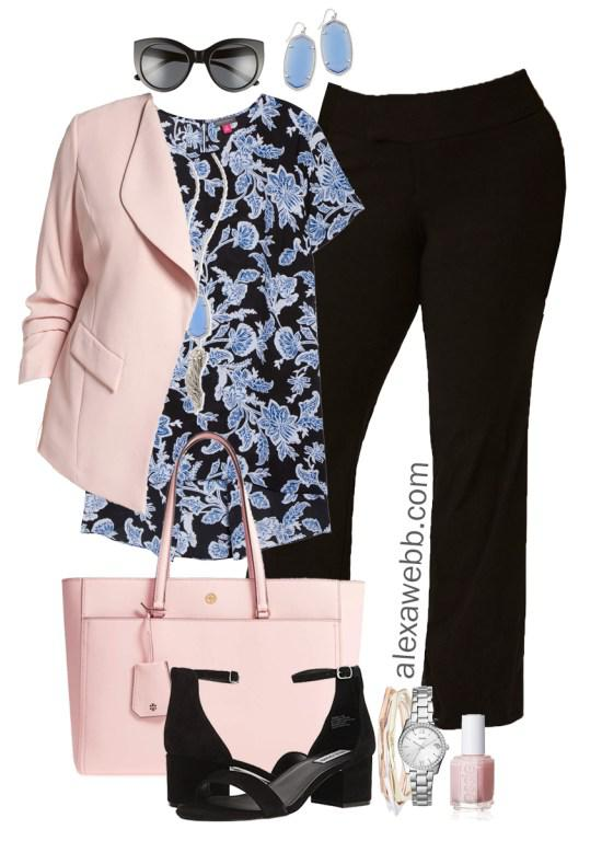 Plus Size Spring Work Outfit