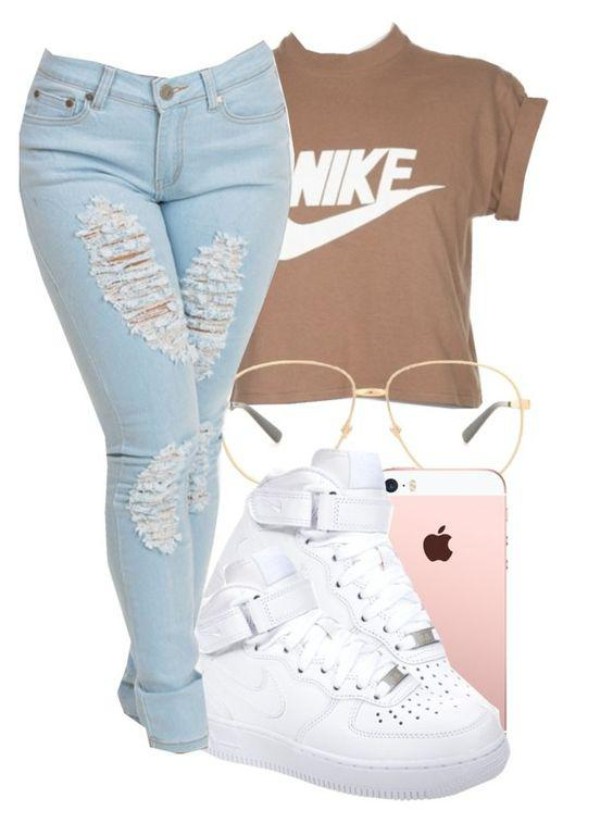 This outfit featuring NIKE, Gucci, schoolflow, schoolstyle and bts