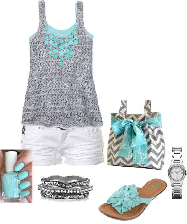 1eac0375f pretty outfit for summer beach days. on Stylevore