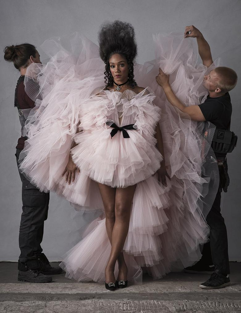 Tiffany Haddish Stuns In A High Fashion Spread For W Magazine
