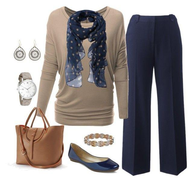 d078ed8385a This Plus Size Work Outfit featuring Doublju