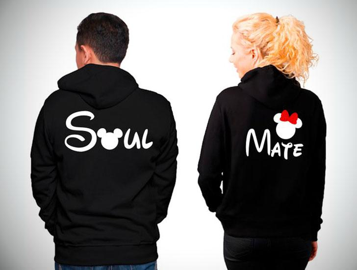 What could be better than a black matching outfit? – Soul-Mate Couple Sweaters