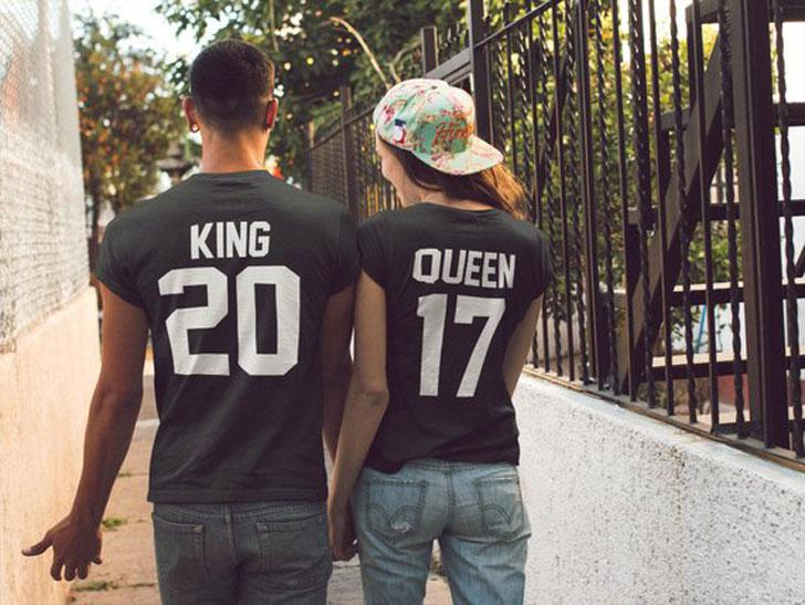 Matching King And Queen T-Shirts – Cute & Classy Matching Outfits For Couples
