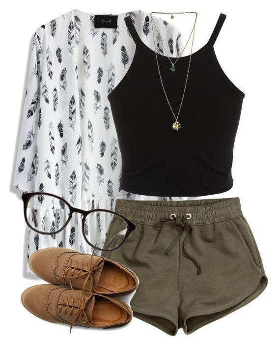 Perfect For Summer back To School Outfit Ideas For Girls