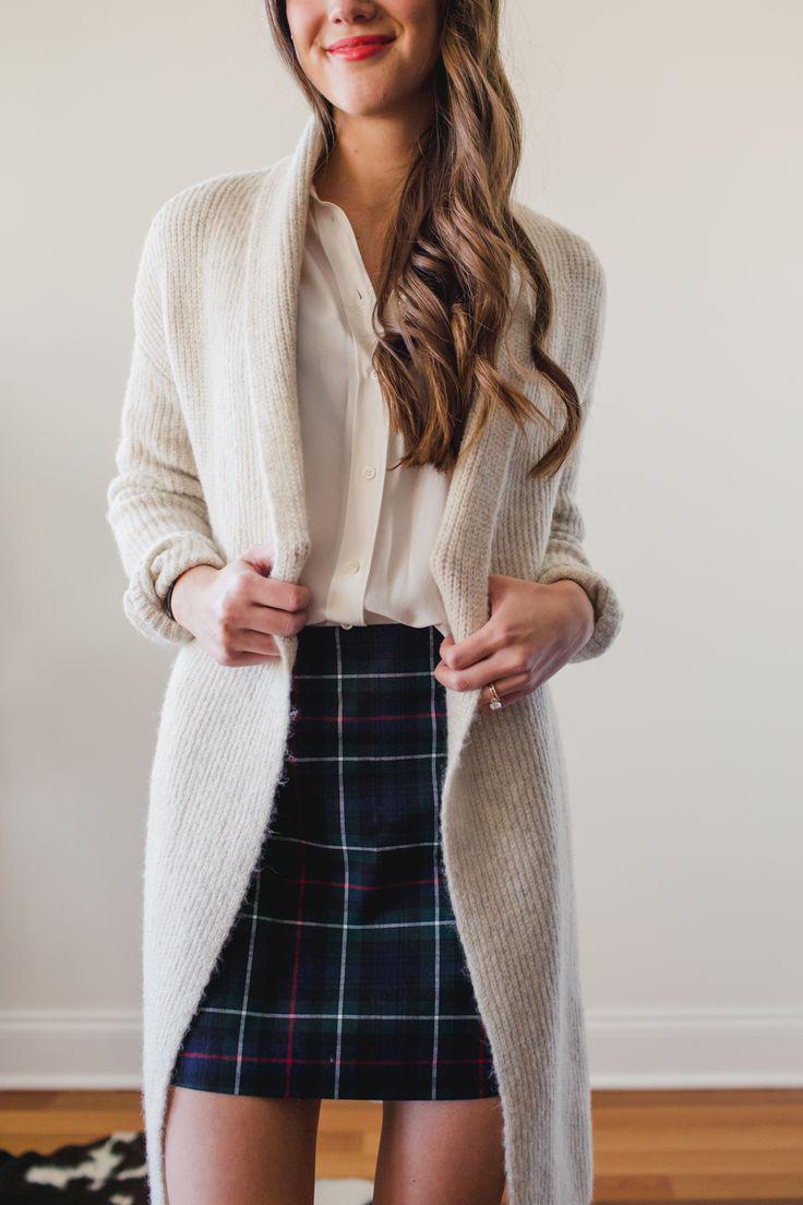 Capsule Wardrobe Remix: How to Wear a Plaid Skirt, Four Ways