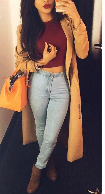 Casual Outfits Winter For Black Girls