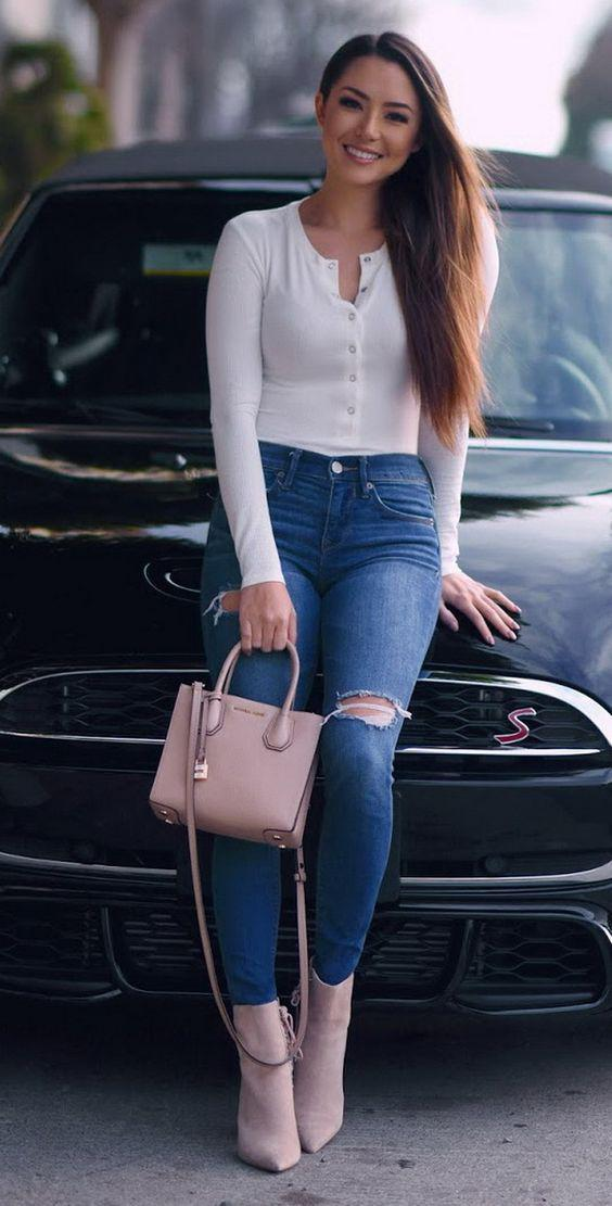 83773bb3d1 Jeans And A Nice Top
