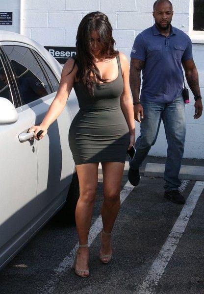 Kim Kardashian Leaves A Studio In Van Nuys Outfit Ideas Party