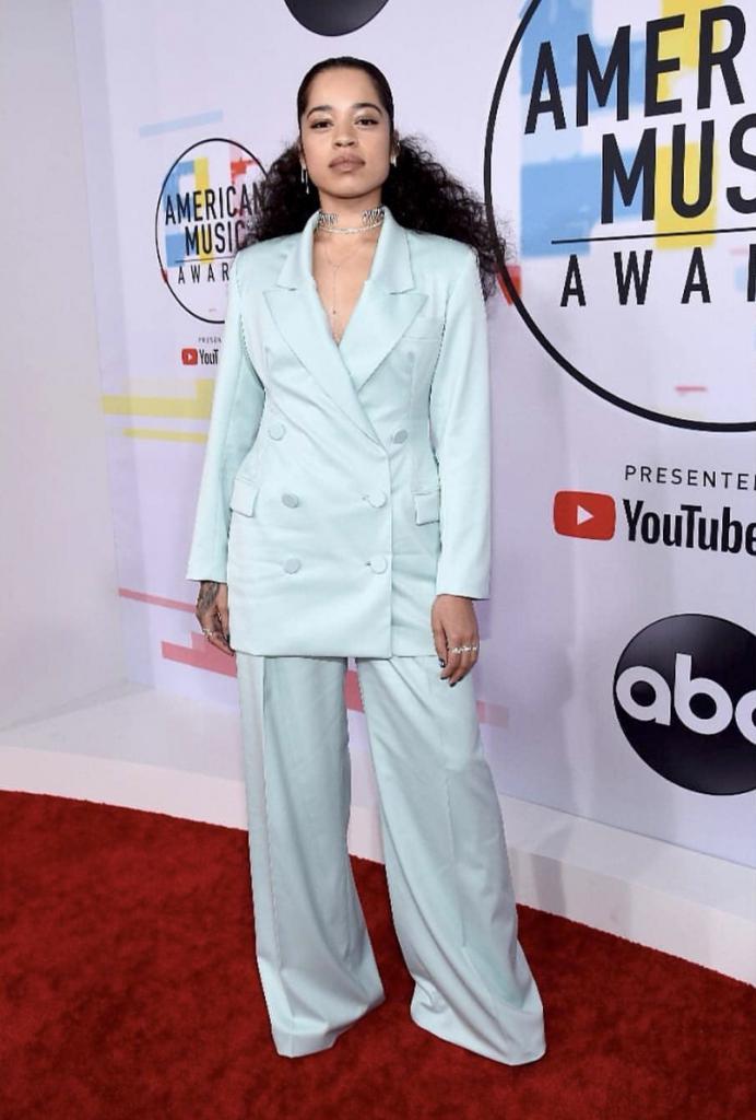 Ella Mai In Oversized Suit
