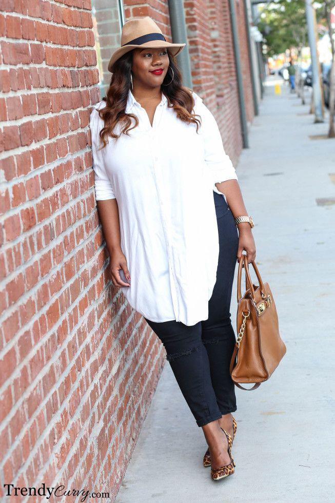 SPRING SUMMER 2019 – Plus size skinny jeans
