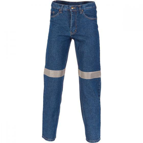 DNC WORKWEAR Denim Jeans with CSR Reflective Tape 3327