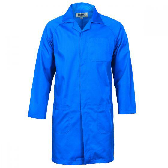 DNC WORKWEAR 200 GSM Polyester Cotton Dust Coat (Lab Coat) 3502