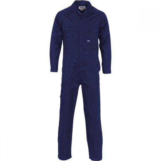 DNC WORKWEAR Lightweight Cool-Breeze Cotton Drill Coverall 3104