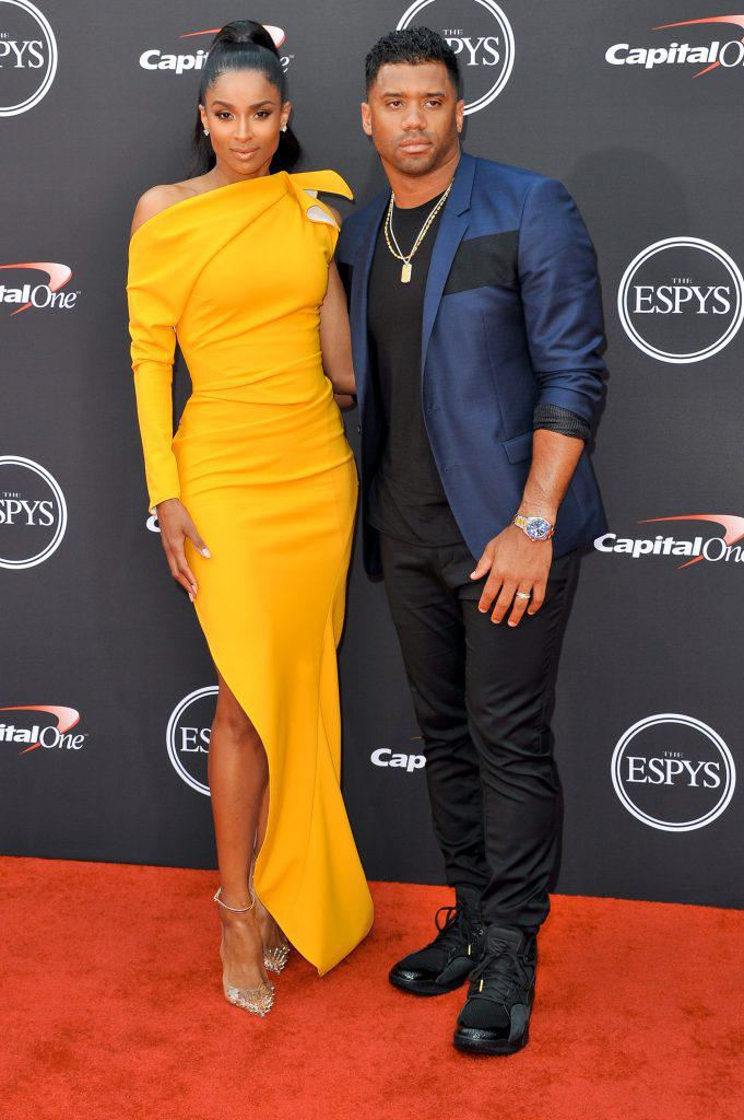Ciara with hubby Russel Wilson