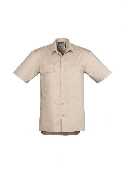 SYZMIK Men's Lightweight Short Sleeve Tradie Shirt ZW120
