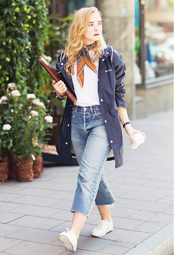 dd564404f0b88 How the Street Style Elite Wears Summer Denim Jeans Outfit Ideas – Denim  Outfits 2019