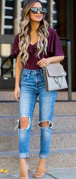 40+ Beautiful Summer Outfits To Stand Out From The Crowd Jeans Outfit Ideas – Denim Outfit ...