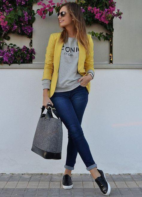 29 Amazing Fall Outfits Jeans Outfit Ideas – Denim Outfits 2019