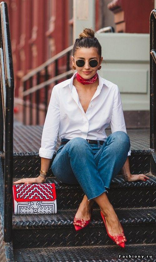 High Rise Mom Fit Jeans Jeans Outfit Ideas – Denim Outfits 2019