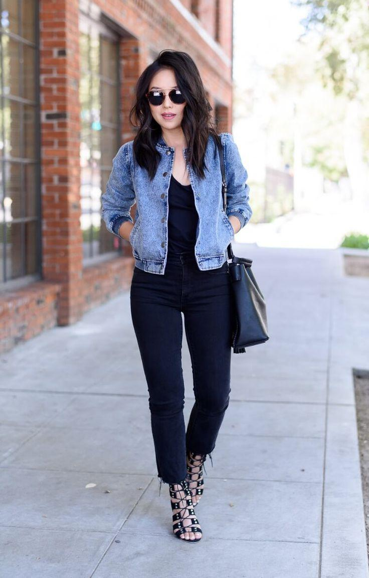 Amazing Fall Outfits with Jeans You Must See Now in Jeans Outfit Ideas