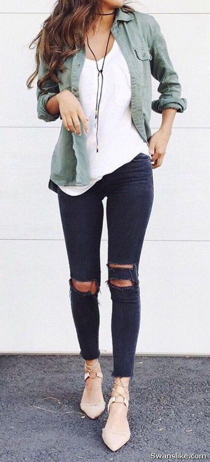 marvellous cute school outfits with jeans