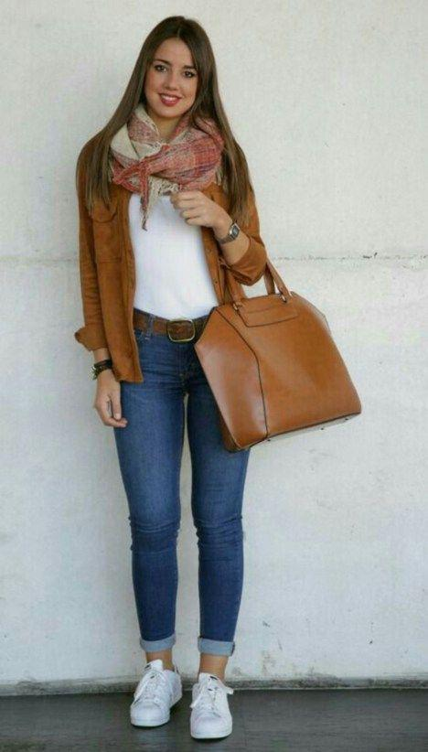 39 Inspiring Casual Style this Fall Jeans Outfit Ideas – Denim Outfits 2019