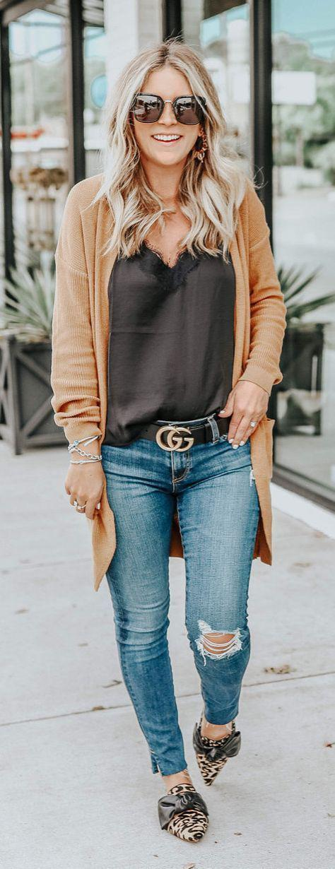 Fall Outfit Ideas with jeans to Get Inspire – jeans Outfit Ideas