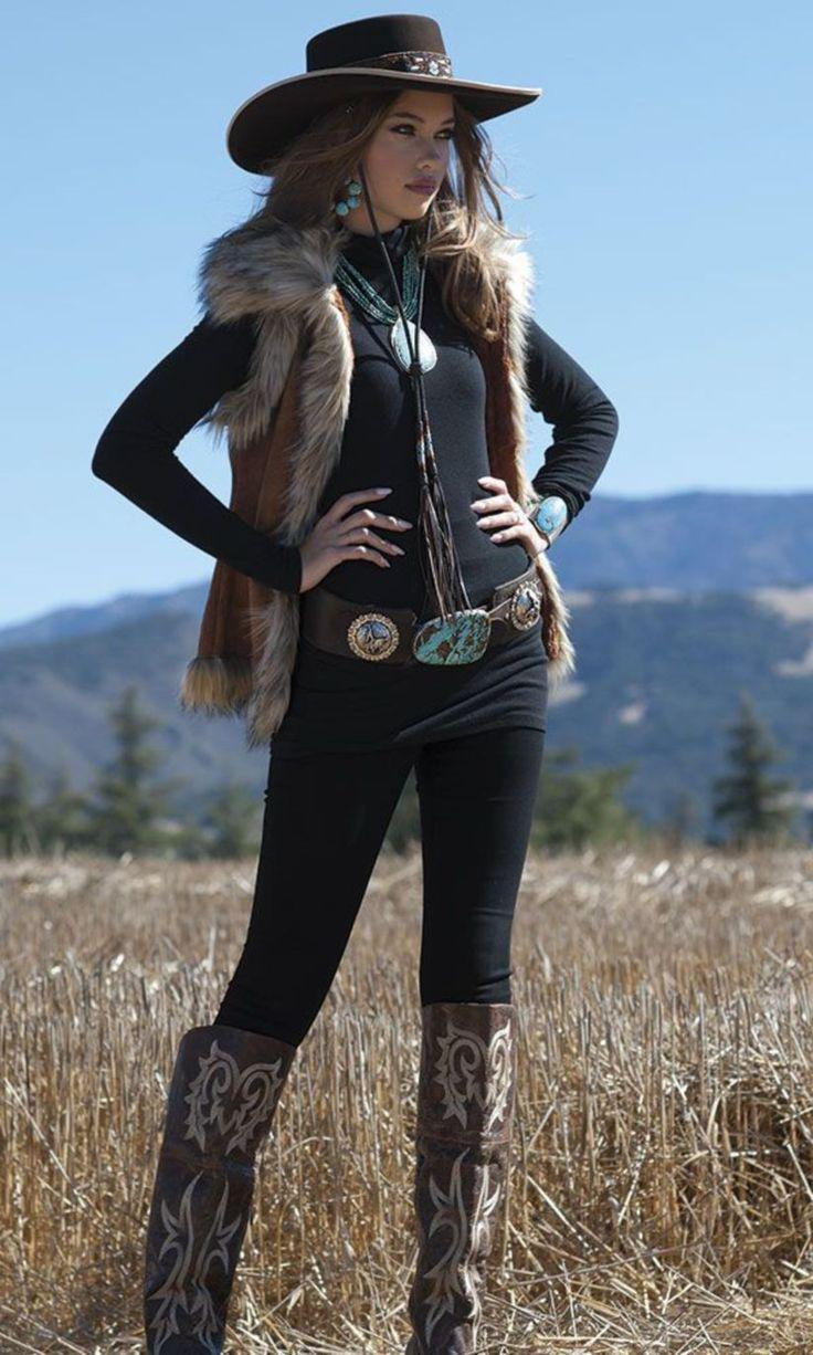 32 Look Good Women Cowboy Outfits Style