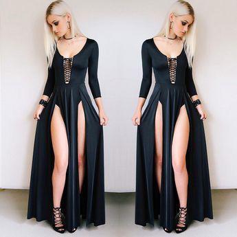 Long Sleeve Dress. Casual wear