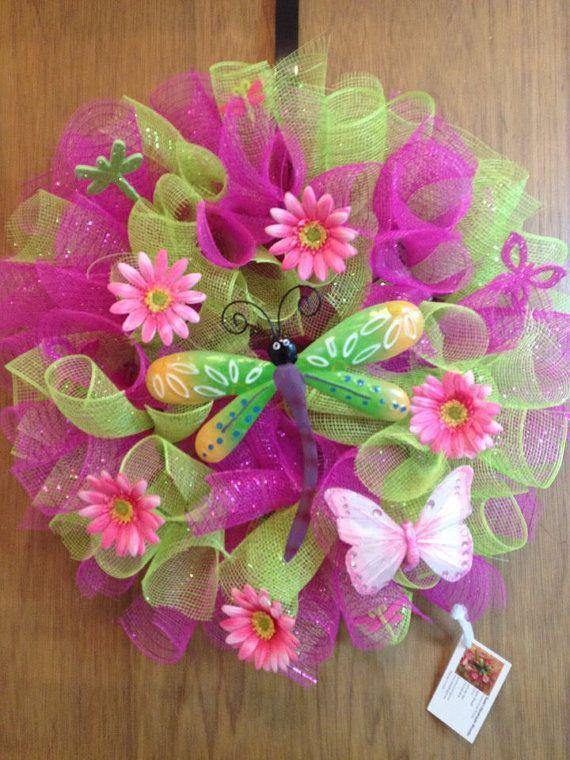 Plastic Balloon Clips 144ct. Plastic Balloon Clips 144ct. Spring Mesh Wreath