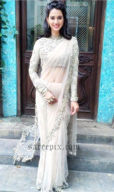 Disha Patani in saree and half saree