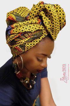 Black Girls Head tie, Clothing Accessories