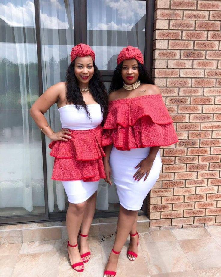 African wax prints.  – dress, shweshwe, fashion, clothing
