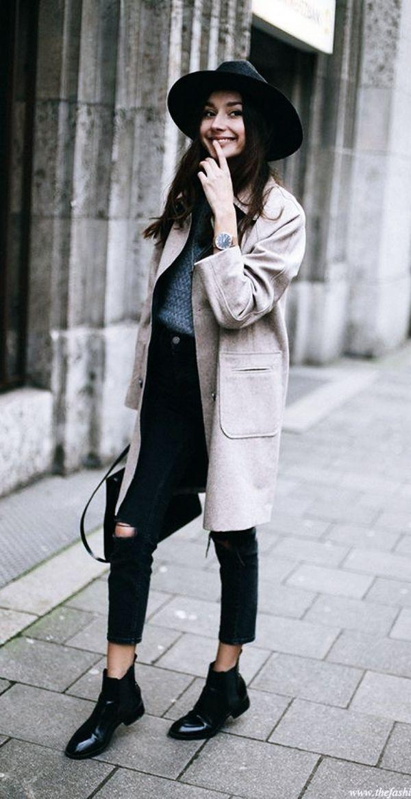 chelsea boots womens. Casual outfits