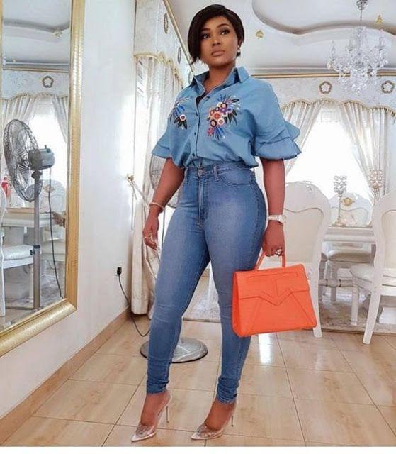 Black Girls Jean jacket, Casual wear