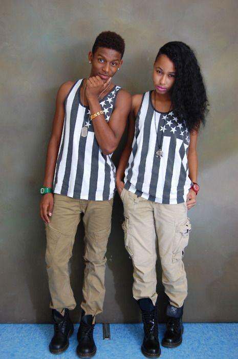 Matching Swag Dresses For Black Couples