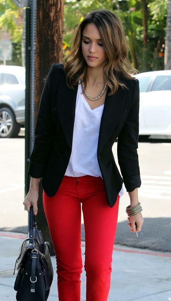 blazer outfit casual. 35 Office Work Outfits With Blazer
