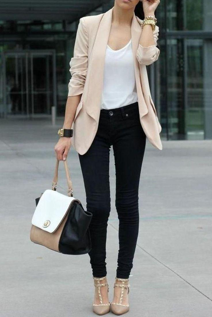 Black Jeans, Business Casual on Stylevore
