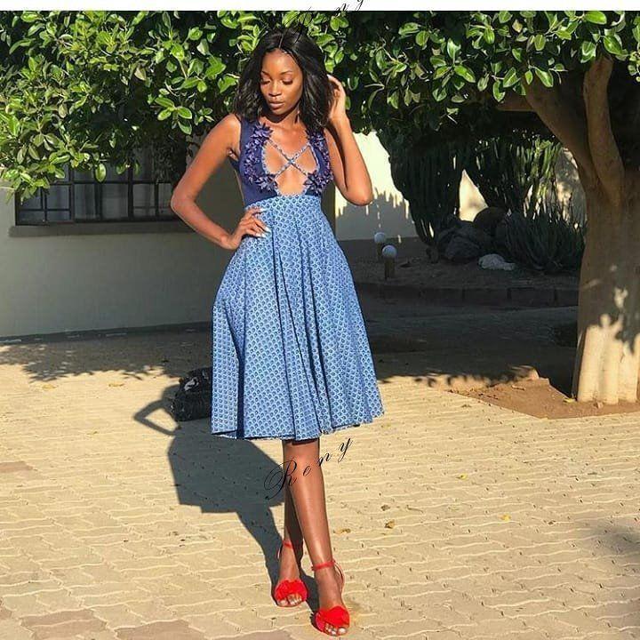 african wax prints black girls african dress tswana