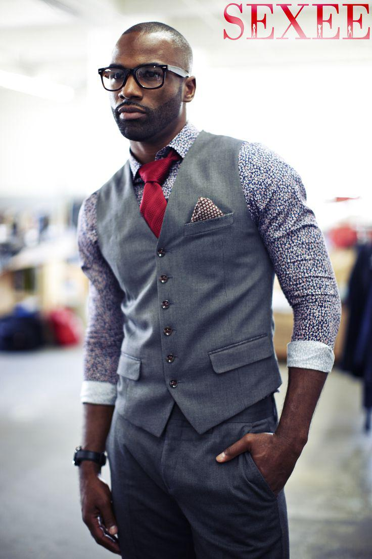 Well Dressed Man. Well Dressed Black Men
