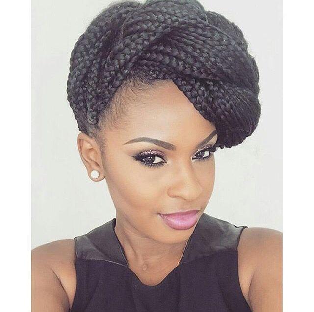 Human hair color. Black Girl Box braids, Crochet braids