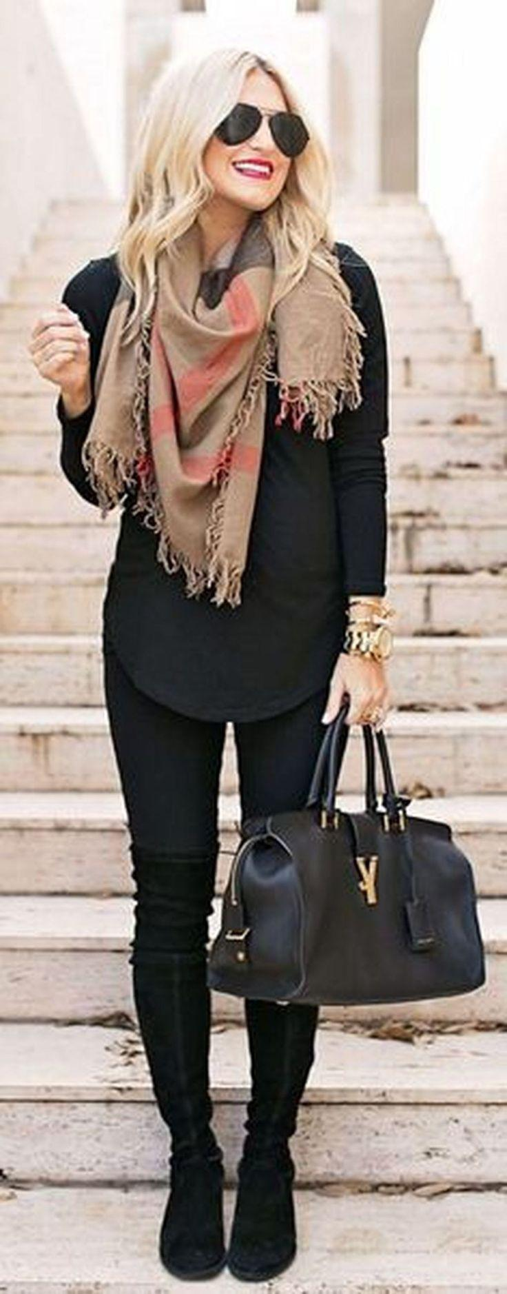 Casual Winter Outfits Ideas For Work 2018 38