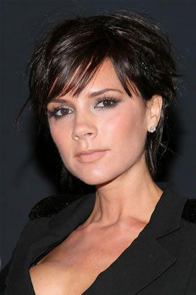 Pixie Haircut Victoria Beckham, Spice Girls