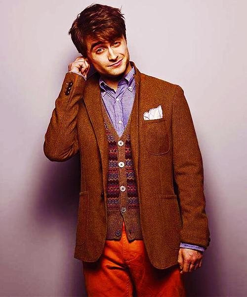 Harry Potter fandom. Dan Radcliffe. Also, Daniel Radcliffe's entire outfit.