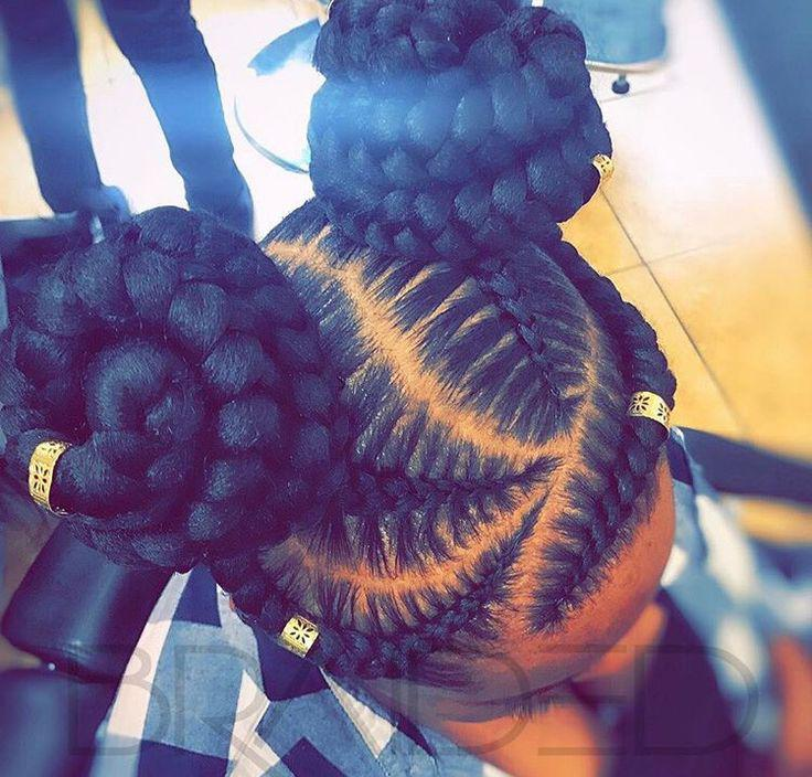 Black Girl Box braids, African hairstyles